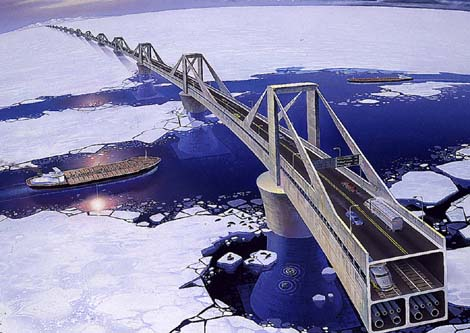 Bering Strait Bridge